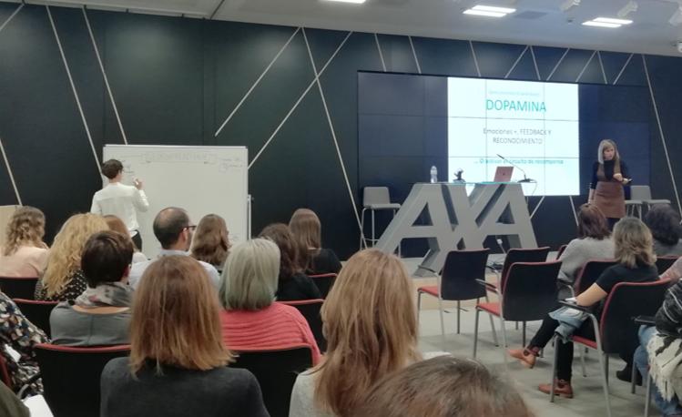 Axa Learning week 2018 - sala