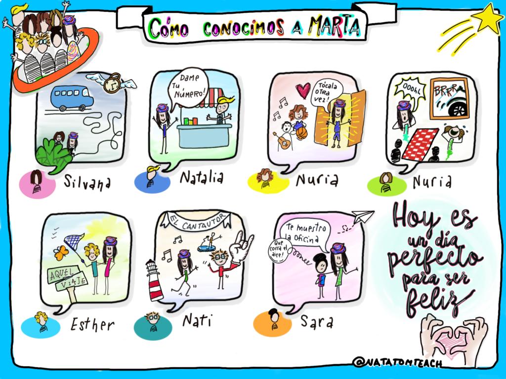 Cómo conocimos a Marta